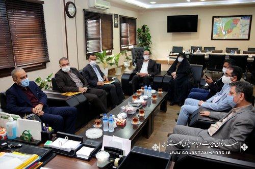 جلسه رئیس سازمان با معاون محترم وزیر راه و شهرسازی