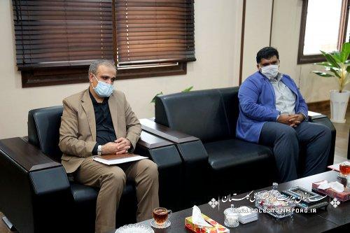 نشست رئیس سازمان با مدیر کل ثبت احوال استان