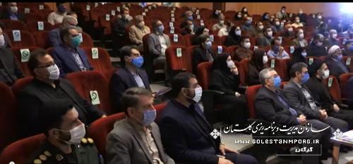 حضور رئیس سازمان در افتتاح و کلنگ زنی طرح های هفته دولت در گلستان