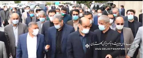 حضور رئیس سازمان در آیین افتتاح دو طرح بزرگ اقتصادی در استان گلستان