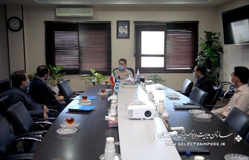 جلسه رئیس سازمان با مدیرکل بهزیستی استان