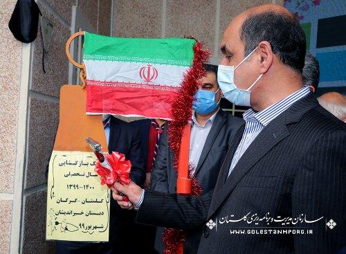 حضور رئیس سازمان در آغاز سال تحصیلی جدید در استان