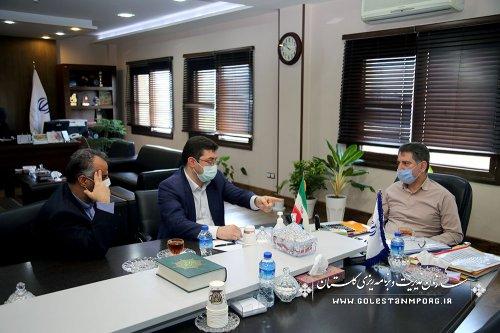 جلسه رئیس سازمان با مدیرکل پزشکی قانونی استان