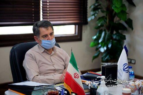جلسه رئیس سازمان با مدیر صندوق کارآفرینی امید گلستان