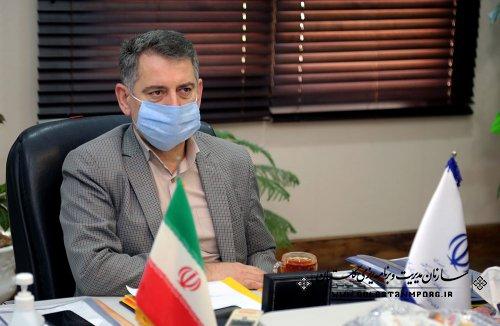 جلسه رئیس سازمان درخصوص پیگیری امتیازات شاخص های ارزیابی عملکرد سال 1398 اداره کل دامپزشکی استان