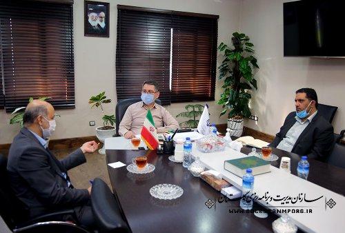 دیدار رئیس سازمان با رئیس بسیج سازندگی استان