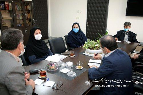 جلسه هم اندیشی رئیس سازمان با حوزه معاونت توسعه مدیریت و سرمایه انسانی