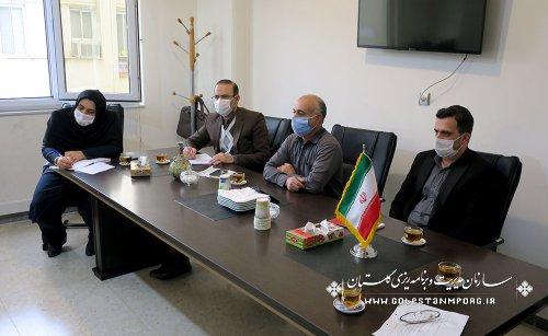 جلسه هم اندیشی رئیس سازمان با مرکز آموزش و پژوهش های توسعه و آینده نگری سازمان
