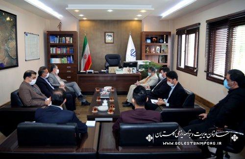 رئیس سازمان:توسعه قابلیت های پویا در پروژه دهکده گیاهان دارویی گلستان و توان بهره برداری از ظرفیت ملی