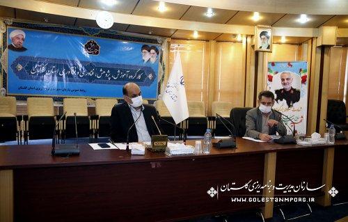 رئیس سازمان:در اولین جلسه کارگروه آموزش،پژوهش،فناوری و نوآوری استان گلستان