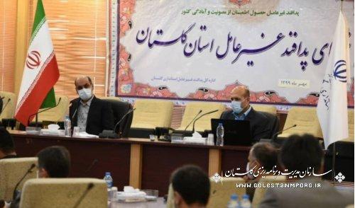 حضور رئیس سازمان در جلسه شورای پدافند غیرعامل استان