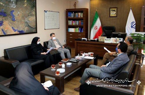 دیدار رئیس سازمان با مدیرکل صدا و سیما استان