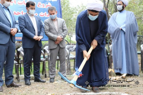 حضور رئیس سازمان در افتتاح و کلنگ زنی 200 واحد مسکونی به مناسبت هفته وقف