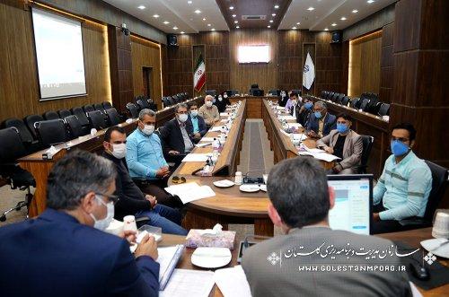 جلسه رئیس سازمان با آمارگیران به مناسبت روز آمار و برنامه ریزی