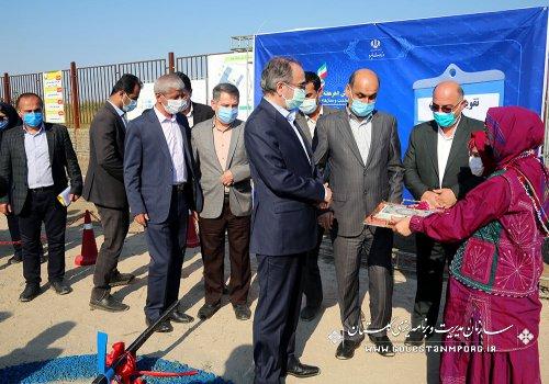 رئیس سازمان:با حضور معاون وزیر نیرو،افتتاح و کلنگ زنی چهار طرح صنعت آب گلستان