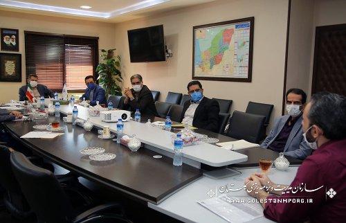 برگزاری جلسه شورای معاونین سازمان مدیریت و برنامه ریزی استان