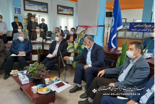 حضور رئیس سازمان در آیین افتتاح پروژه های هواشناسی با وزیر راه و شهرسازی از طریق ویدئو کنفرانس