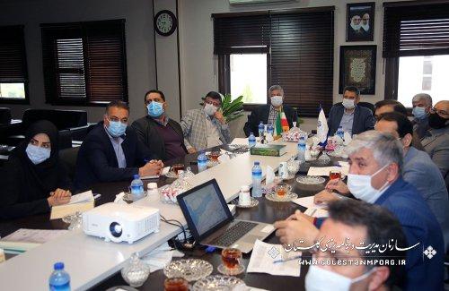تاکید رئیس سازمان بر نقشه یکپارچه استان در زهکشی اراضی