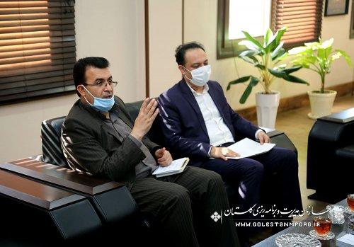 دیدار مدیرکل تعزیرات استان با رئیس سازمان