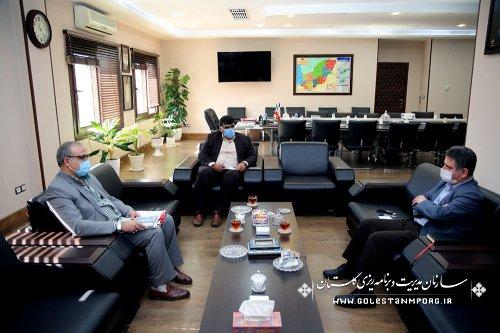 دیدار مدیرکل ثبت احوال استان با رئیس سازمان