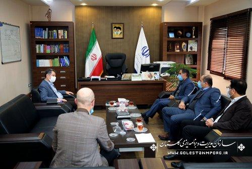 دیدار مدیرکل حوزه هنری استان با رئیس سازمان