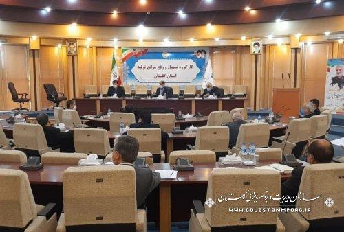 حضور رئیس سازمان در سیصدوهفتادوسومین جلسه کارگروه تسهیل و رفع موانع تولید استان