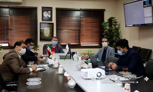 حضور رئیس سازمان مدیریت و برنامه ریزی استان در وبینار تشریح لایحه و ابعاد بودجه سال 1400