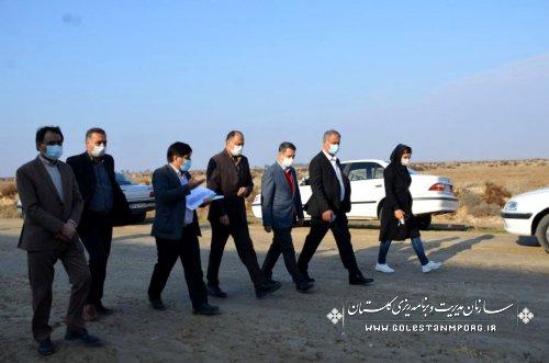 بازدید رئیس سازمان مدیریت و برنامه ریزی استان گلستان از کارخانه کاسپین چیکا در گنبدکاووس