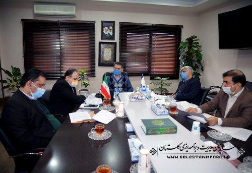 جلسه پیگیری رئیس سازمان در خصوص تفاهم نامه های ملی و بین المللی موضوعات اقتصادی استان