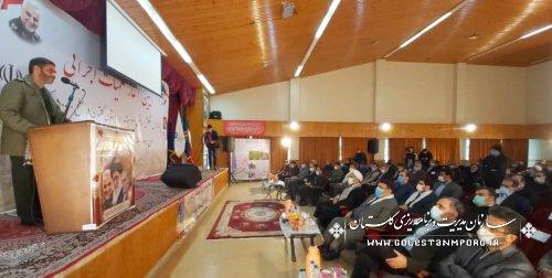 حضور رئیس سازمان مدیریت و برنامه ریزی استان گلستان در عملیات زهکشی 50 هزار هکتار از اراضی کشاورزی استان