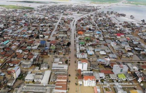 انتشار گزارش فنی سیلاب فروردین 1398 با تلاش سازمان مدیریت و برنامه ریزی استان گلستان