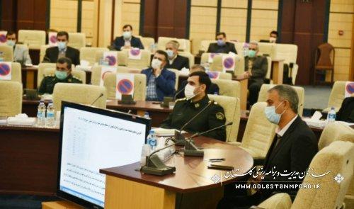 سازمان مدیریت و برنامه ریزی استان گلستان در جلسه ستاد تنظیم بازار استان