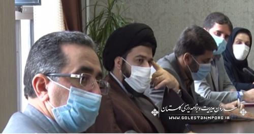 حضور رئیس حوزه ریاست و روابط عمومی سازمان در جلسه شورای اطلاع رسانی استان