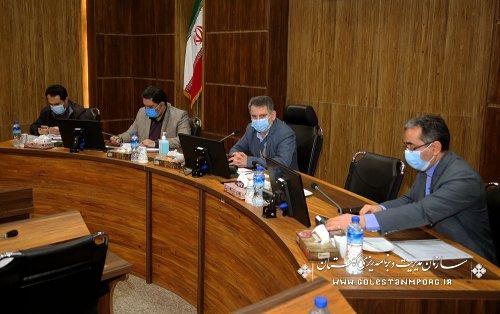 رئیس سازمان مدیریت و برنامه ریزی استان گلستان:کارنامه درخشان دستگاه های اجرایی استان  تا دهه فجر سال 1399