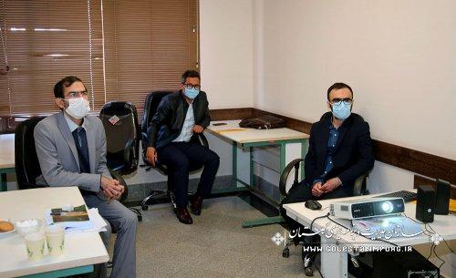 تاکید رئیس محترم سازمان مدیریت و برنامه ریزی استان در خصوص شرکت کلیه نیروهای جدید الاستخدام در وبینار آموزشی