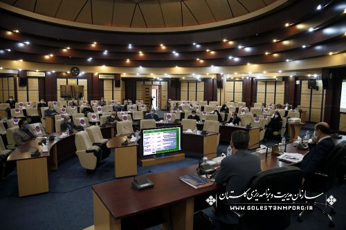 رئیس سازمان مدیریت و برنامه ریزی استان گلستان:در دومین جلسه کارگروه آموزش،پژوهش،فناوری و نوآوری استان گلستان