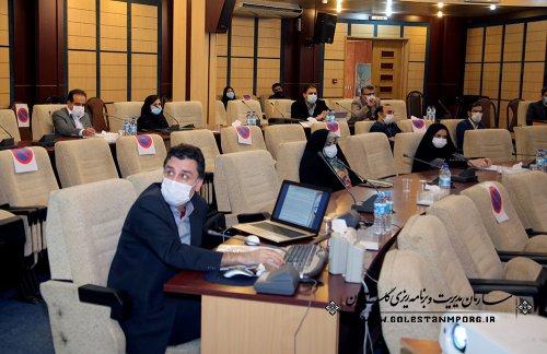سازمان مدیریت و برنامه ریزی استان گلستان در ششمین جلسه شورای فنی استان