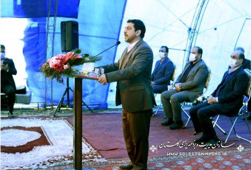 حضور رئیس سازمان مدیریت و برنامه ریزی استان گلستان در آغاز بهره برداری از 3 پروژه بزرگ در عرصه کشاورزی و منابع طبیعی