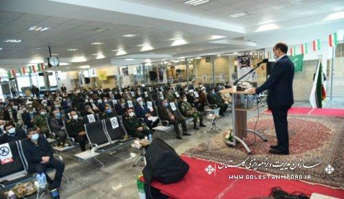 حضور رئیس سازمان مدیریت و برنامه ریزی استان در مراسم استقبال نمادین ورود تاریخی حضرت امام خمینی (ره) به میهن اسلامی