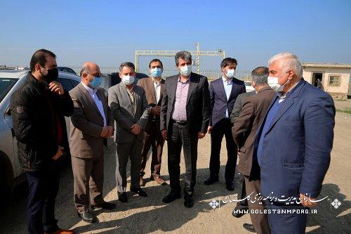 بازدید رئیس سازمان مدیریت و برنامه ریزی استان گلستان از کارخانه های آرد در گالیکش و آزادشهر