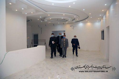 بازدید رئیس سازمان مدیریت و برنامه ریزی استان گلستان از مجتمع تخصصی برق و الکترونیک مرکزآموزش فنی و حرفه ای گرگان