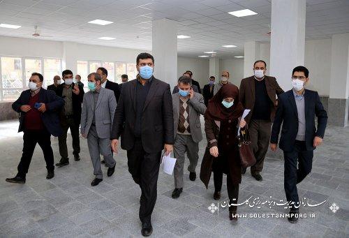 بازدید رئیس سازمان مدیریت و برنامه ریزی استان گلستان از دانشگاه فنی و حرفه ای شهید چمران گرگان