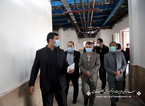 بازدید رئیس سازمان مدیریت و برنامه ریزی استان گلستان از مرکز فناوری دانش آموزی گرگان