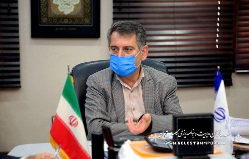 رئیس سازمان مدیریت و برنامه ریزی استان گلستان:توسعه و آبادانی استان گلستان نباید هیچگاه متوقف شود