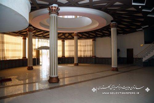بازدید سازمان مدیریت و برنامه ریزی استان گلستان از هتل الماس آزادشهر