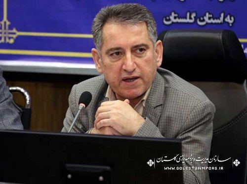 رئیس سازمان مدیریت و برنامه ریزی استان گلستان:30 پروژه اقتصاد مقاومتی در گلستان اجرایی می شود