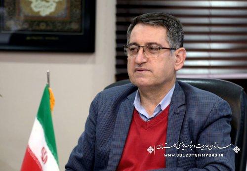 رئیس سازمان مدیریت و برنامه ریزی استان گلستان:تحقق 123 درصدی درآمدهای مالیاتی در گلستان