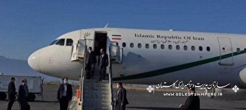 ورود معاون اول رئیس جمهور به استان گلستان