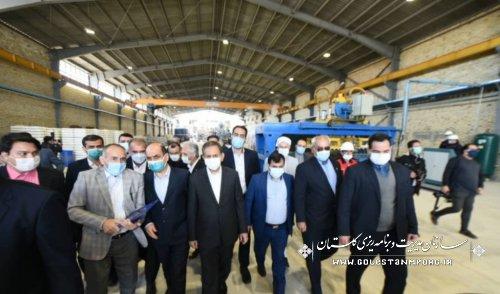 با حضور معاون اول رئیس جمهور:آیین بهره برداری از کارخانه تولیدکننده ورق های سیمانی