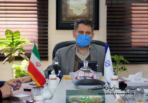 رئیس سازمان مدیریت و برنامه ریزی استان گلستان:ایجاد مکانیزم کنترلی درخصوص بررسی دوره ای پروژه ها